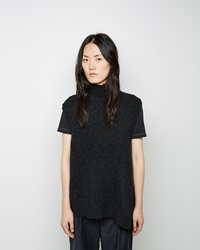 3.1 Phillip Lim Mockneck Sweater Shell Charcoal