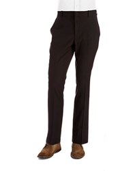 Perry Ellis Travel Luxe Slim Fit Dress Pants Black