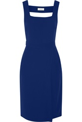 A.L.C. Spencer Cutout Crepe Dress Blue