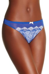 B.Tempt'd B. Sultry Thong Blue