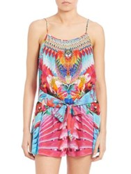 Camilla The Free Printed Short Jumpsuit Multi