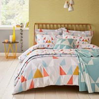 Scion Modul Duvet Set Tangerine Multi