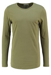 Jack And Jones Jjprhugo Slim Fit Long Sleeved Top Burnt Olive