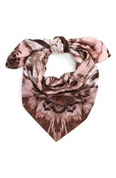 Vince Camuto Women's Cosmic Bloom Square Silk Scarf