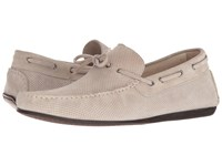 Canali Perforated Moccasin Tan Shoes