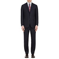 Brioni Men's Two Button Colosseo Suit Navy