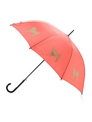 The San Francisco Umbrella Company Pug Walking Stick Red
