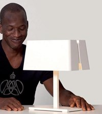Tango Lighting Manhattan Small Square Table Lamp