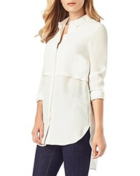 Phase Eight Maida Pleat Detail Tunic Ivory