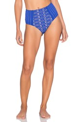 Nightcap Bardot High Waist Bottom Blue