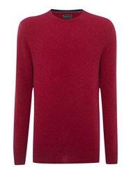 Howick Cashmere Crew Neck With Gift Box Wine