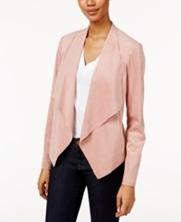 Kut From The Kloth Draped Open Front Blazer Blush