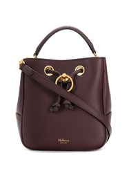 Mulberry Small Hampstead Shoulder Bag Purple