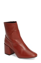 Topshop Women's Mint Pointy Toe Bootie Brown