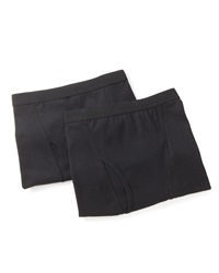 Neiman Marcus Boxer Brief Two Pack Black