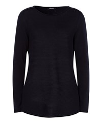 Olsen Textured Jumper Navy