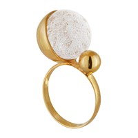 Solomeina Ballet Ring Silver