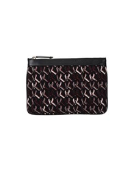 Missoni Small Leather Goods Pouches Women Dark Blue
