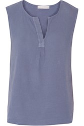 Kain Label Audrey Cotton Gauze Tank Blue