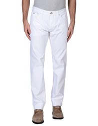 Gas Jeans Gas Trousers Casual Trousers Men White