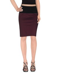 Hoss Intropia Skirts Knee Length Skirts Women Deep Purple