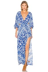 Spell And The Gypsy Collective Lolita Cutout Maxi Dress Blue