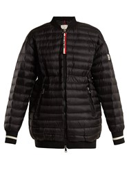 Moncler Charoite Quilted Down Jacket Black