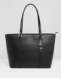 Valentino By Mario Valentino Structured Tote Bag In Black