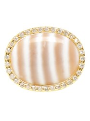 Kimberly Mcdonald Chalcedony And Diamond Ring White