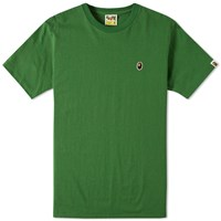 A Bathing Ape Ape Head One Point Tee Green