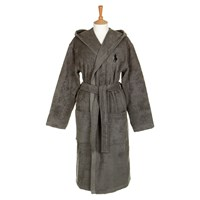 Ralph Lauren Home Player Bathrobe Pebble Grey