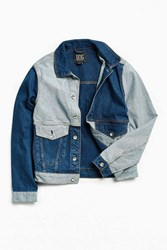 Bdg Blocked Denim Trucker Jacket Tinted Denim