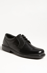 Hush Puppies 'Strategy' Oxford Black Leather