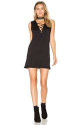 Riller And Fount Elsa Criss Cross Mini Dress Black