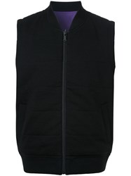 Kent And Curwen Reversible Puffer Vest Black