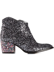 Zadig And Voltaire Glitter Ankle Boots