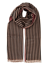 Haider Ackermann Woven Striped Scarf Pink And Purple