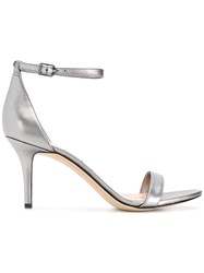 Sam Edelman Minimal Strappy Sandals Grey