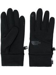The North Face Touch Sensitive Knitted Gloves Black