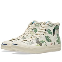 Converse Jack Purcell Signature Carnivorous Mid White