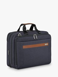 Briggs And Riley Kinzie Street 2.0 Medium Expandable Briefcase Navy
