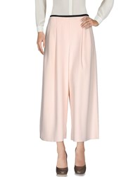 Carlo Contrada Casual Pants Light Pink