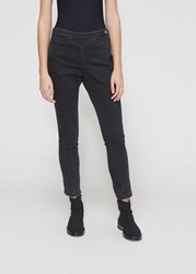 Rachel Comey 'S Fetter Pant In Washed Black Size 0 Cotton Polyester Polyurethane