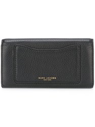 Marc Jacobs 'Recruit' Continental Wallet Black