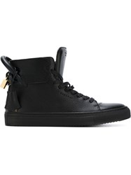 Buscemi Key And Padlock Sneakers Black