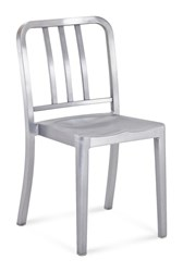 Emeco Heritage Stacking Chair Silver