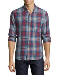 Joe's Jeans Plaid Print Flannel Shirt Multi