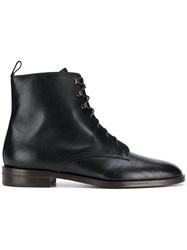 Michel Vivien Glasgow Lace Up Boots Black