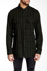 Gilded Age Long Sleeve Plaid Shirt Black