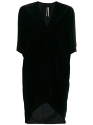 Rick Owens Floating Tunic Dress Women Silk Viscose 44 Black